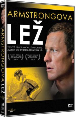 Filmový dokument Armstrongova lež na DVD. The Armstrong Lie dvd.