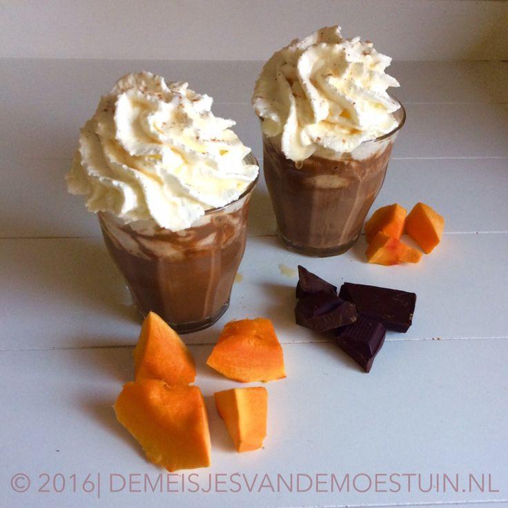 pumpkin spiced chocolademelk