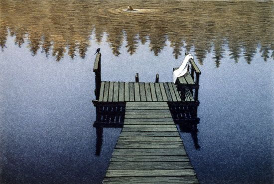 Paradise - aquatint, Esa Riippa, 2004