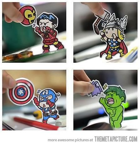 Voler les Avengers