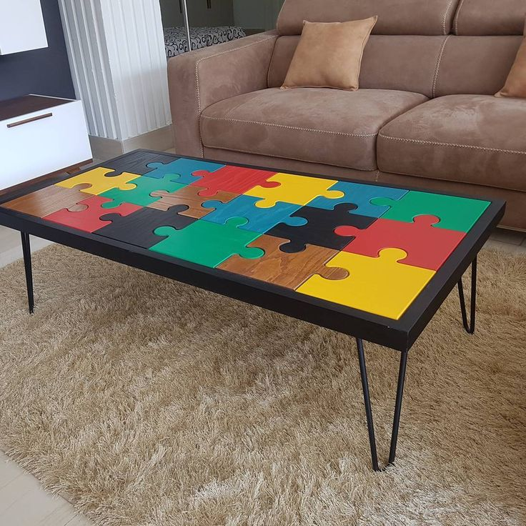 Table basse Lego #meubles #meublestunisie #tablebasse #coffeetable #industrialdesign #midomeubles