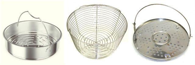 Pressure Cooker Accessory: Steamer Basket | hip pressure cooking