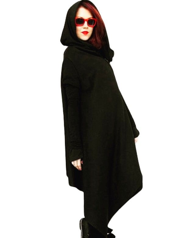 Shalena Solid Zipper Irregular Cardigan Hooded Coat http://shalena.ca #women #fashion #onlineshopping #dresses #shoes #coat #love #life #american #canadian #australia #newzealand #uk #england #france #germany #spain  #latestfashion #beautiful #happy #pretty #colorful #sweet #bestquality #shopping #womenfashion  #followforfollow #follow4follow #f4f #ifollowbackalways