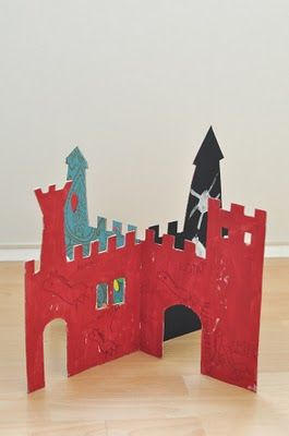 Could make as anything not just a castle Great cause you can pull apart flat and take out & about
