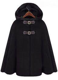 yo elijo coser: Patrón gratis: capa con capucha (tallas XS-L)