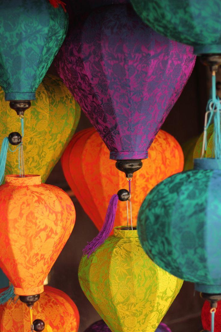 Vietnamese Lamp Shades