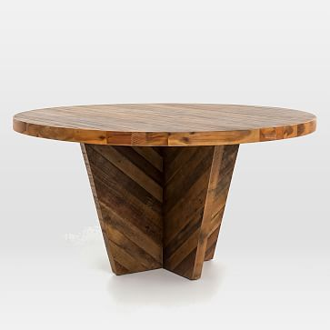 Alexa Round Dining Table #westelm