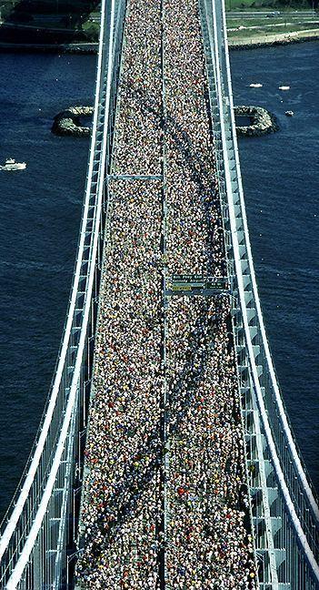 Amazing Image from the New York Marathon