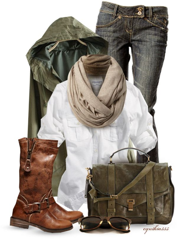 """Cool Weather Day"" by cynthia335 on Polyvore - Not the coat."
