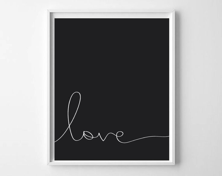 Monochrome print,  Valentines Day Printable Art 8x10 Black and white nursery art, Love printable wall art decor, instant download by Designsbyritz on Etsy https://www.etsy.com/listing/205574640/monochrome-print-valentines-day