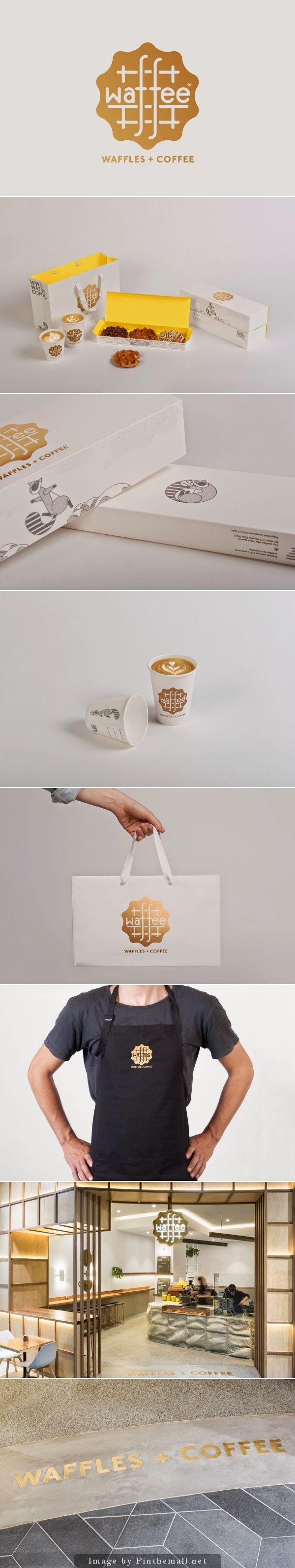 Belgian waffle and coffee chain of Waffee