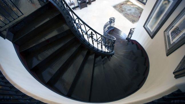Carlton Gebbia's sexy staircase