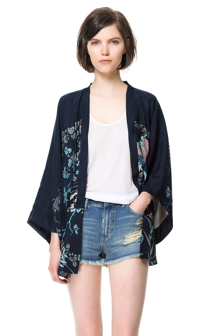 68 best fashion: kimono images on Pinterest | Dress, Boleros and ...