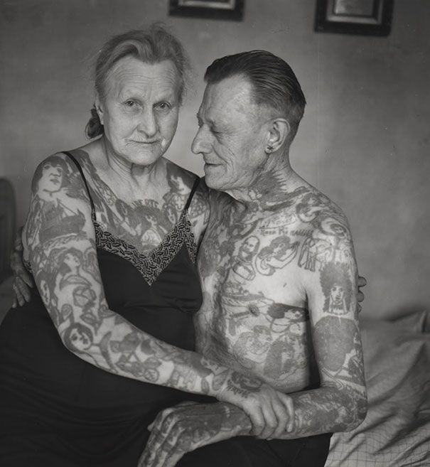 Tattooed Seniors: What Will Your Ink Look Like When You're 60? | artFido's Blog