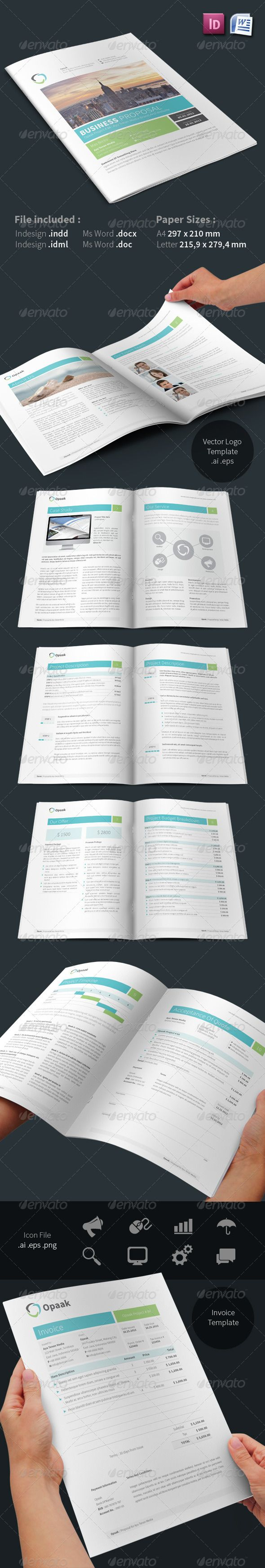 Commercial Proposal Format Inspiration 504 Best Business Proposal Images On Pinterest  Proposal Templates .