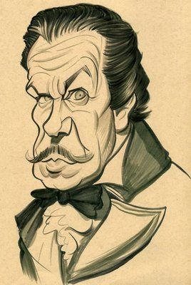Vincent Price by Zack Wallenfang