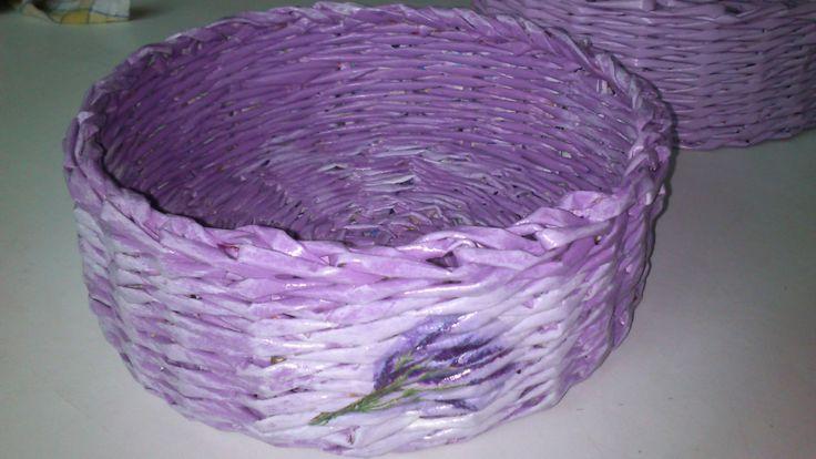 koszyk papierowa wiklina