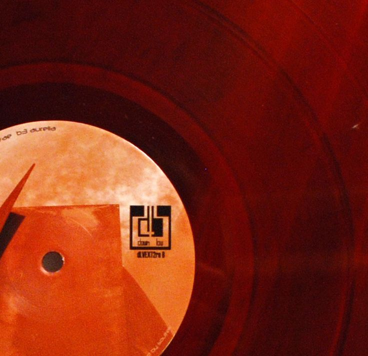 E.R.P. – Event Related Potential red vinyl