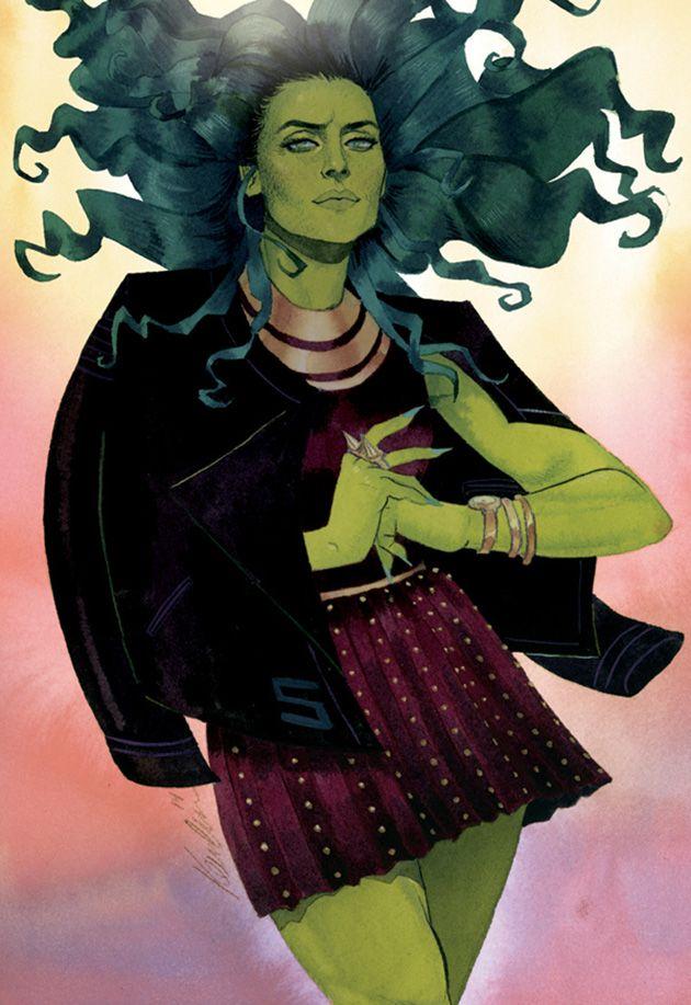 She-Hulk by Kevin Wada