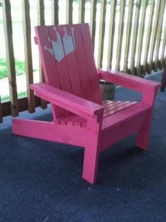 Kids Adirondack Chair | Do It Yourself Home Projects from Ana White