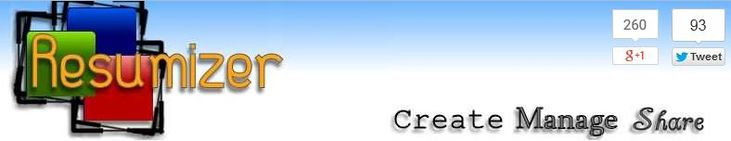 Resumizer free online resume builder