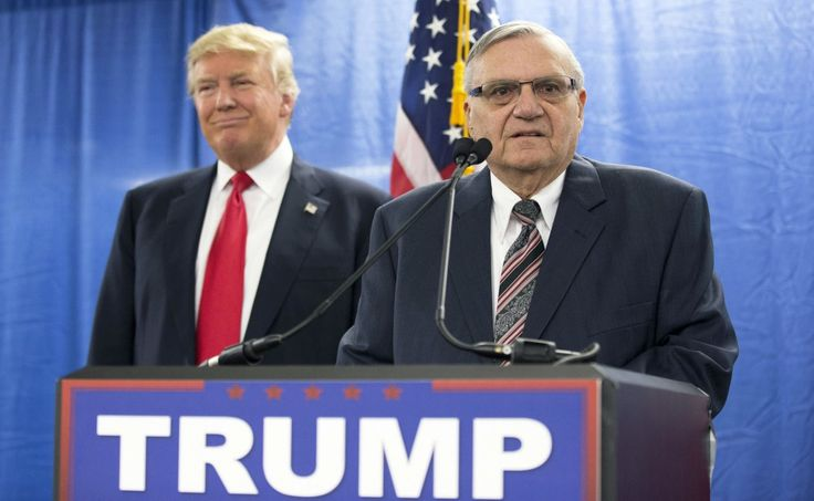 President Trump's pardon of Joe Arpaio was unconstitutional and should be overturned.