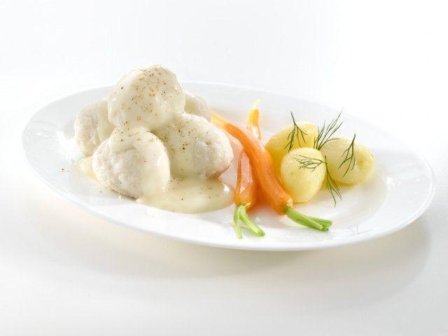 Lofoten Hjemmelagde fiskeboller i perfekt hvit saus (x)