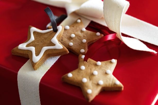 Traditional in Germany at Christmas, these sweet cookies are full of spice. Use them as edible gift tags, too.