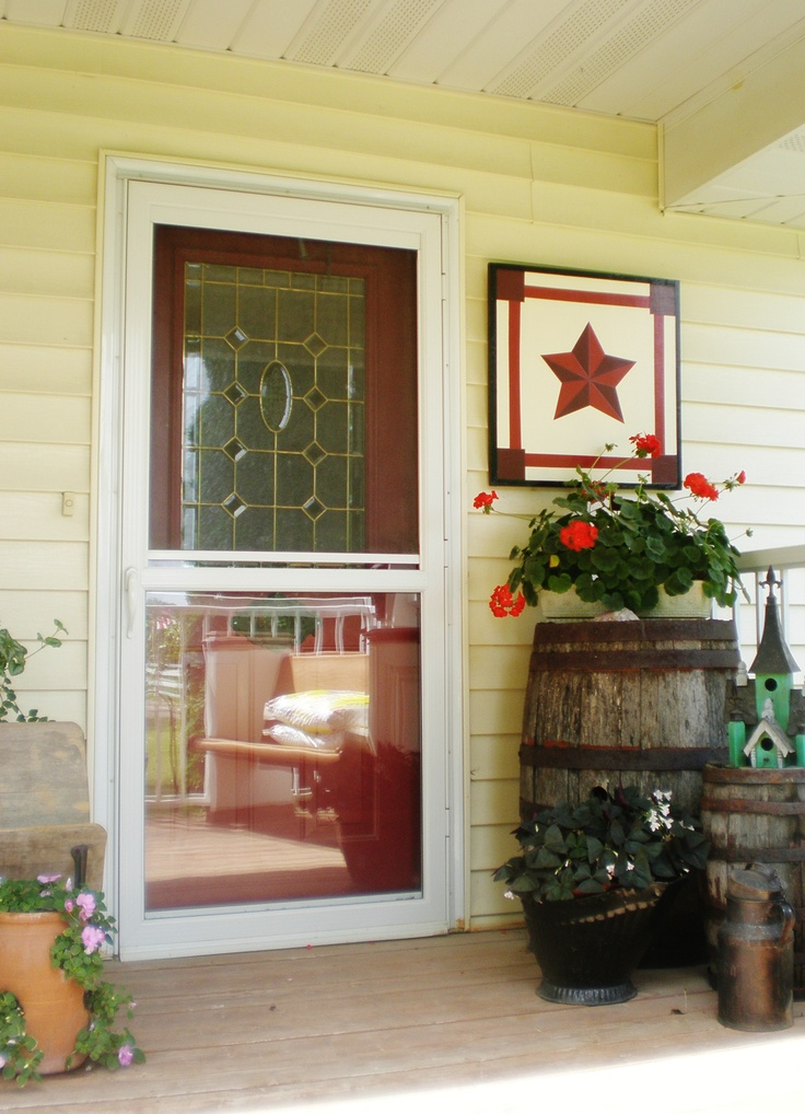17 best images about barn quilts on pinterest star quilt for Front door quilt pattern