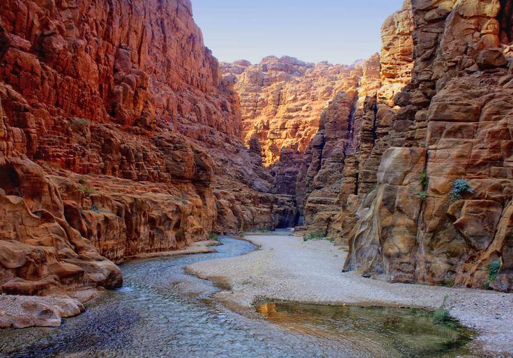 Wadi Mujib Jordan Tourism
