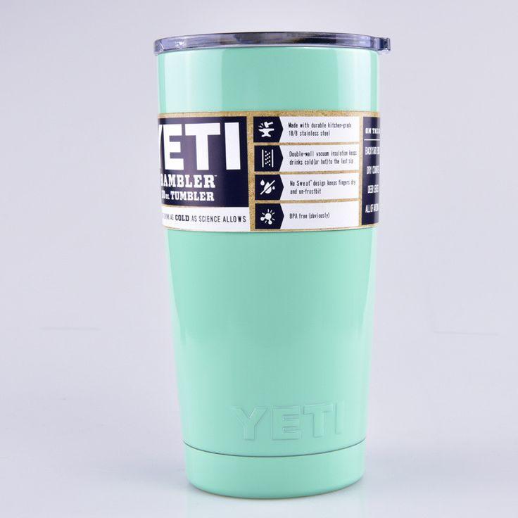 Colors 20oz Yeti Cup 304 Stainless Steel Yeti Rambler YETI Coolers Rambler Tumbler Double Walled Travel Mug YETI cup colster