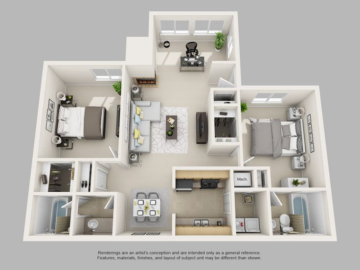 7 best mini images on pinterest 2 bedroom apartments apartment attractive two bedroom apartment floor plans park on clairmont apartments and models contemporary 2 bedroomjpg malvernweather Image collections
