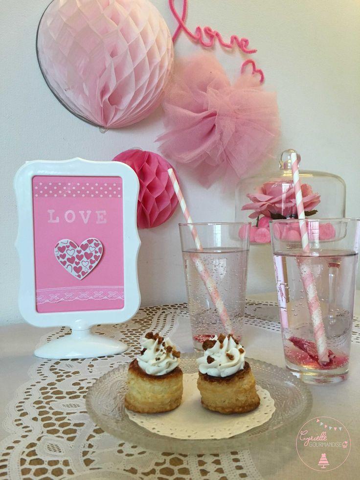 Bouchées Chèvre-Pain d'Epices et Philtre d'Amour à la Rose ♥Valentines Week♥