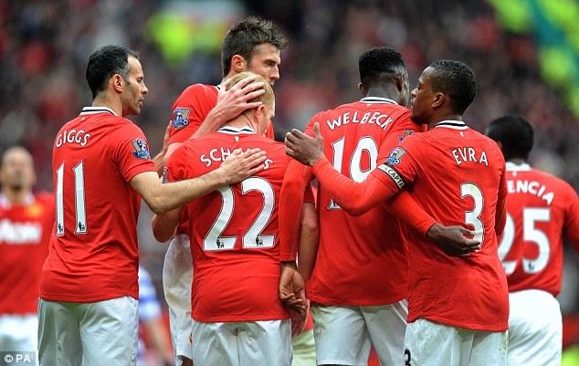Manchester United 2 QPR 0