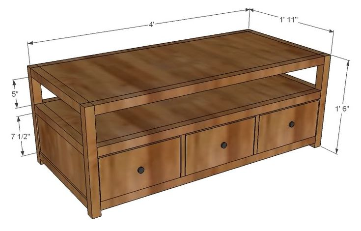 1000 Ideas About Coffee Table Storage On Pinterest Wood Crate Table With