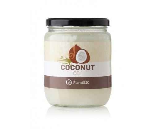 Planet Bio - Ulei organic de nuca de cocos virgin presat la rece 500 gr