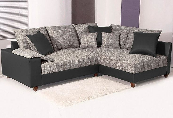 Polsterecke, auch mit Bettfunktion. Diese kuschelige Polsterecke wird garantiert zu Ihrem Lieblingsplatz. Hier ist komfortables Schlafen in Sitzhöhe angesagt. Die Armlehnen sorgen für mehr Bequemlichkeit. Durch die extratiefe Sitzfläche erhalten Sie ein echtes Lounge-Gefühl zum Entspannen und Relaxen.  Details: Stabiles Holzgestell, Polsterung Polyätherschaum, Sitz Federkern auf Wellen-Unterfed...