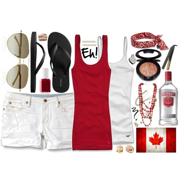 Canada day outfit | Canada Day Outfit!!