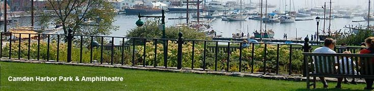 Camden Harbor Park & Amphitheatre - Camden Maine Things to Do