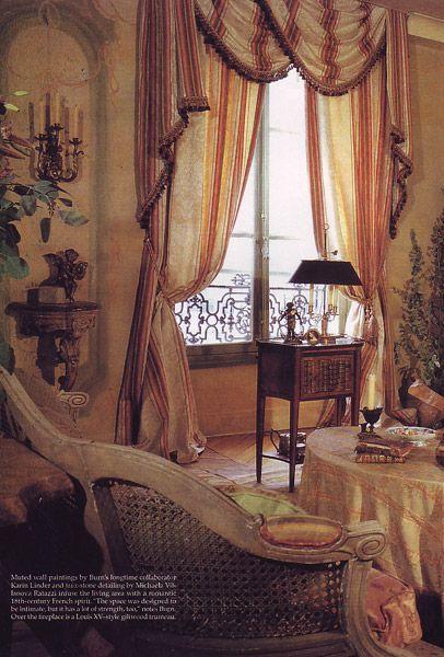 109 best images about curtains rideaux et doubles rideaux on pinterest wind - Rideaux style cottage ...