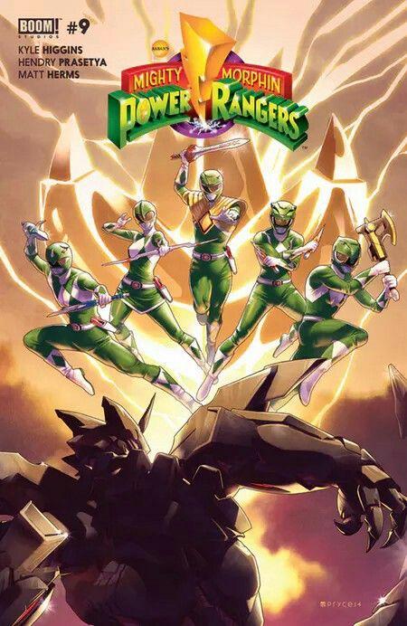 Green Rangers #SonGokuKakarot