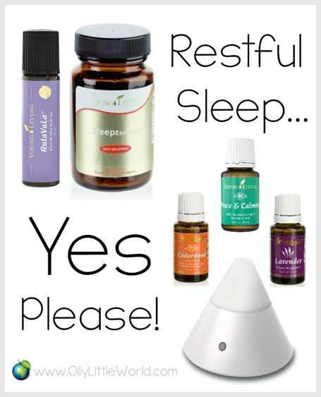 Nighty Night ~ Promoting Restful Sleep with Young Living Products