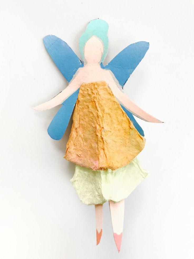 Egg Carton Fairy Dolls 8