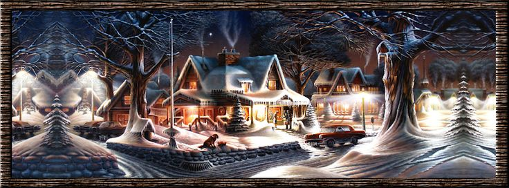 Winter House Cover Photo For Facebook Timeline