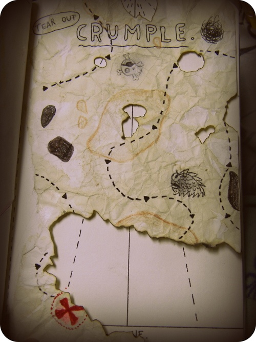 Pirate map, follow it to a treasure. What did you find?