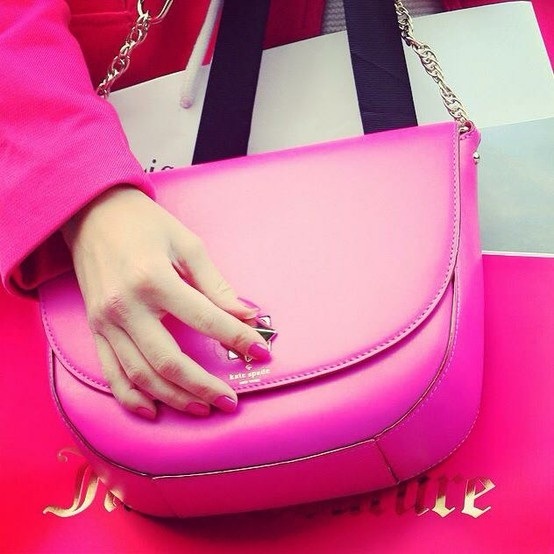 Must Have Pink, #KeepTheColour #KateSpade