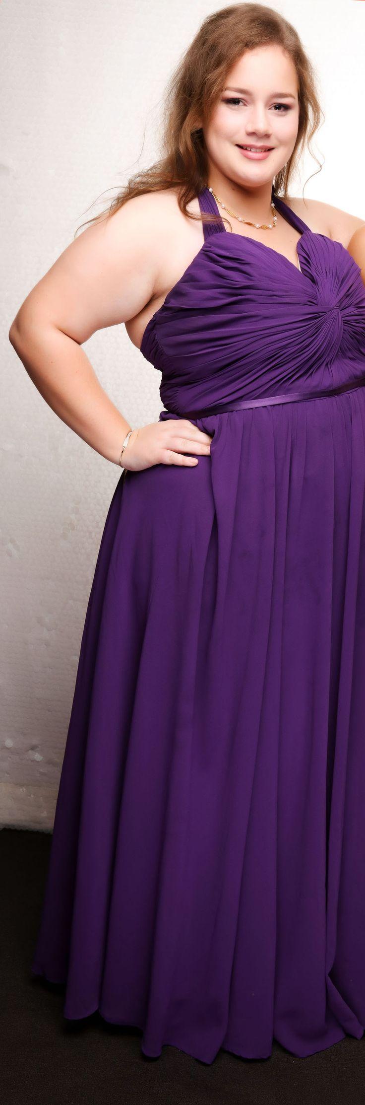 Pukekohe College School Ball 2017. Love this purple gown!