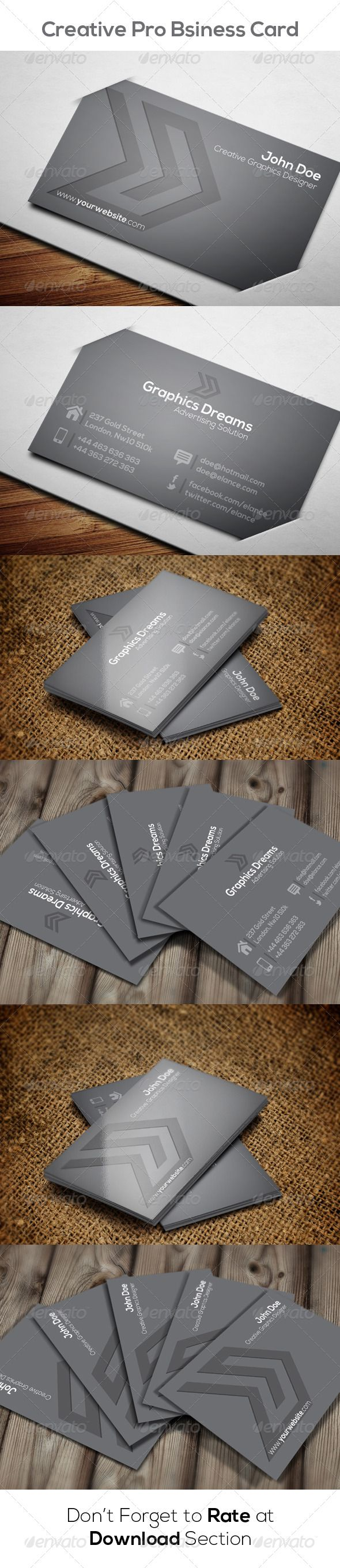 29 best business card template images on pinterest business card creative business card reheart Gallery