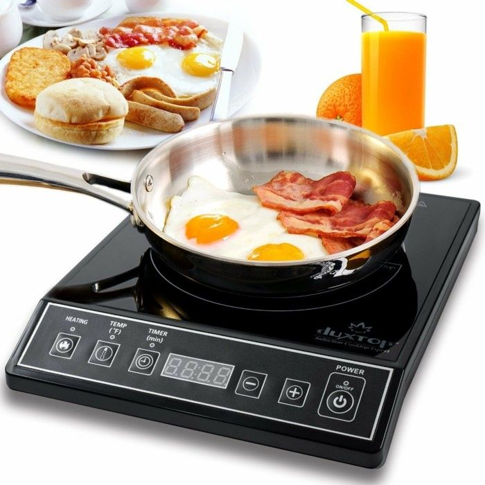 fast cooking with induction cooker