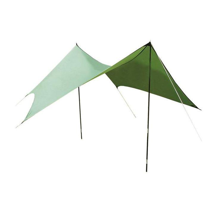 Deze 3 seizoens Lowland Bivakwing is zowel vrijstaand, als in combinatie met een tent te gebruiken. De Bivakwing beschermt u tegen regen en zon en is snel op te zetten. Deze tarp wordt geleverd inclusief 2 aluminium stokken, haringen en scheerlijnen. De afmetingen zijn 335 x 360 cm.€ 149,00